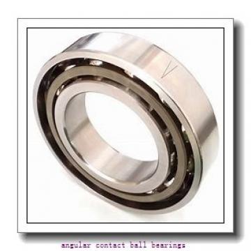 2.756 Inch | 70 Millimeter x 4.921 Inch | 125 Millimeter x 1.563 Inch | 39.7 Millimeter  SKF 5214MFFG  Angular Contact Ball Bearings